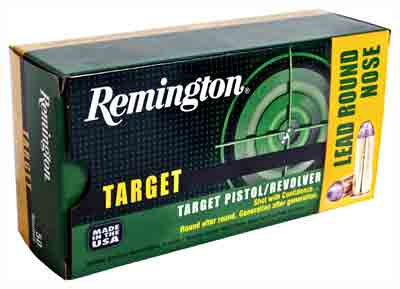 Remington Ammo .45 Long Colt 250gr. Lead-RN50-Pack !