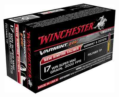 Winchester Ammo Varmint He .17Wsm 25gr. V-Max 50-Pack