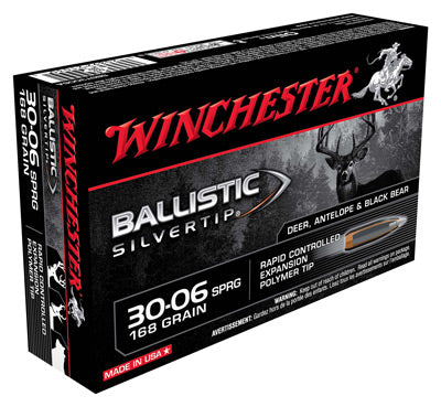 Winchester Ammo Supreme .30-06 20-Pack 168gr. Ballistic Silver-Tip