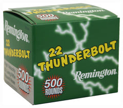 Remington Ammo .22 LR Thunderbolt 40gr. LRN - 5,000 Rounds (Case)