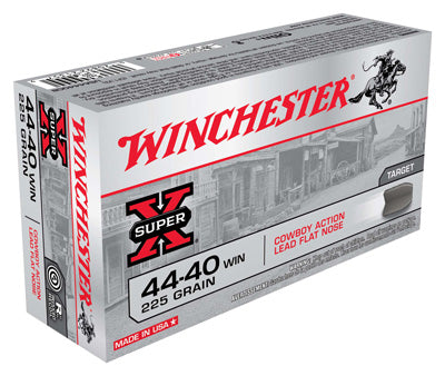 Winchester Ammo Cowboy .44-40 Win. 225gr. Lead-FP 50-Pack