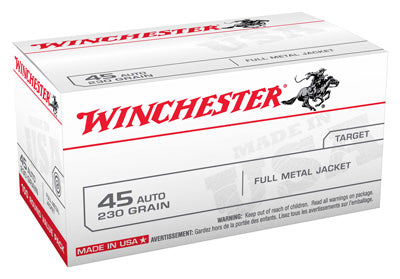 Winchester Ammo Usa .45ACP 230gr. FMJ-RN100-Value Pack