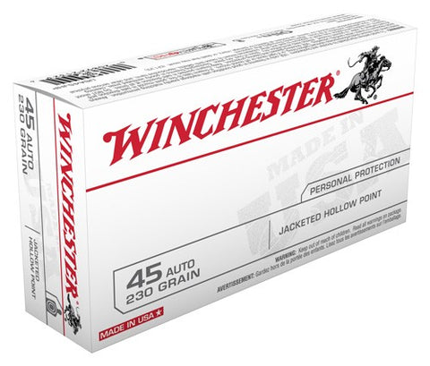 Winchester Ammo Usa .45ACP 230gr. JHP 50-Pack
