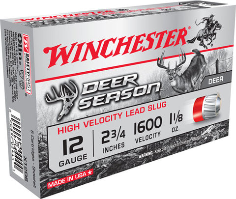 Win Ammo Deer Season Slugs