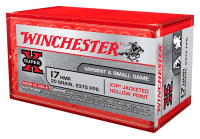 Winchester Ammo Super-X .17Hmr 20gr. XTP Gamepoint 50-Pack