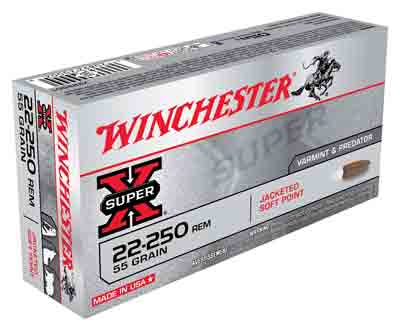 Winchester Ammo Super-X .22-250 55gr. Psp 20-Pack