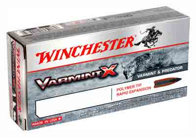 Winchester Ammo Varmint-X .22-250 55gr. Polymer Tipped 20-Pack
