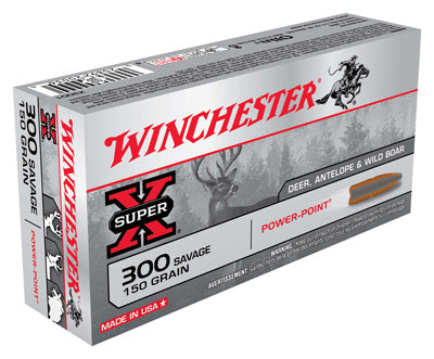 Winchester Ammo Super-X .300 Savage 150gr. Power Point 20-Pack