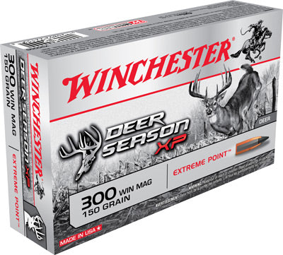 Winchester Ammo Deer Xp .300 Wm 20Pack 150gr. Extreme Point 20 Pack