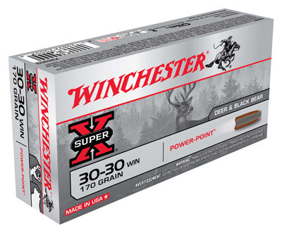 Winchester Ammo Super-X .30-30 Win. 170gr. Power Point 20-Pack