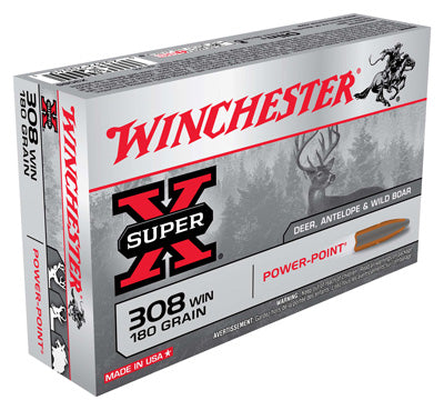 Winchester Ammo Super-X .308 Win. 180gr. Power Point 20-Pack