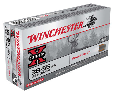 Winchester Ammo Super-X .38-55 Win. 255gr. Power Point-FP 20-Pack