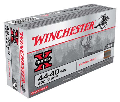 Winchester Ammo Super-X .44-40 Win. 200gr. Power Point-FP 50-Pack
