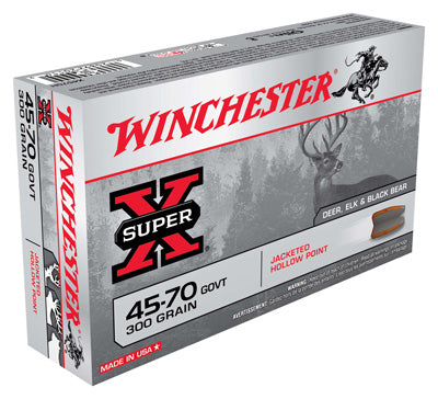 Winchester Ammo Super-X .45-70 Govt. 300gr. JHP 20-Pack