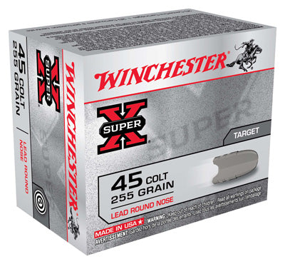 Winchester Ammo Super-X .45 Long Colt 255gr. Lead-RN20-Pack