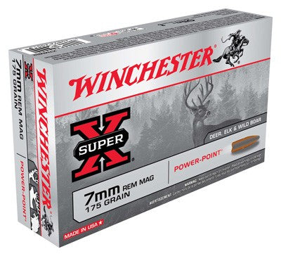 Win Ammo Super-X 7Mm Rm