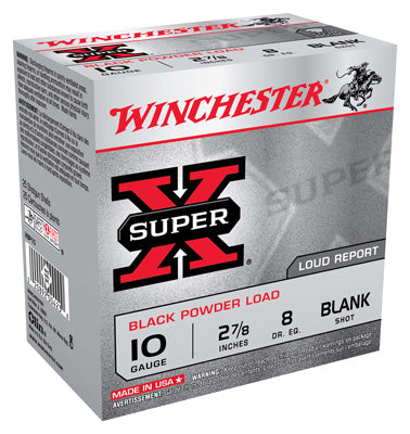 "Win Blanks 10Ga. 2-7/8"" Black Powder 25-Pack"