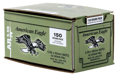 Federal Ammo Ae 5.56X45 600Rd Case 62gr.Green Tip Tactical