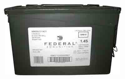 Fed Ammo AE Tactical 5.56X45 - 420 Rounds