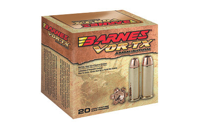 Barnes VOR-TX, 10MM, 155 Grain, XPB, Jacketed Hollow Point, Lead Free, 20 Round Box BB10MMA1