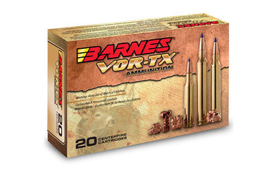 Barnes VOR-TX, 223 Rem, 55 Grain, Triple Shock X, Lead Free, 20 Round Box BB223R2