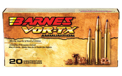Barnes VOR-TX, 300WSM, 165 Grain, Tipped Triple Shock X, Boat Tail, Lead Free, 20 Round Box BB300WSM2