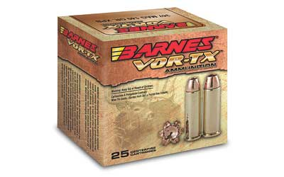 Barnes VOR-TX, 357 Mag, 140 Grain, XPB, Jacketed Hollow Point, Lead Free, 20 Round Box BB357M2