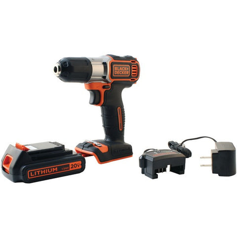 BLACK & DECKER BDCDE120C 20-Volt MAX Lithium Drill/Driver with AutoSense(TM) Technology