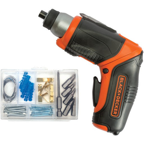BLACK & DECKER BDCS40BI 4-Volt Lithium Pivot Screwdriver