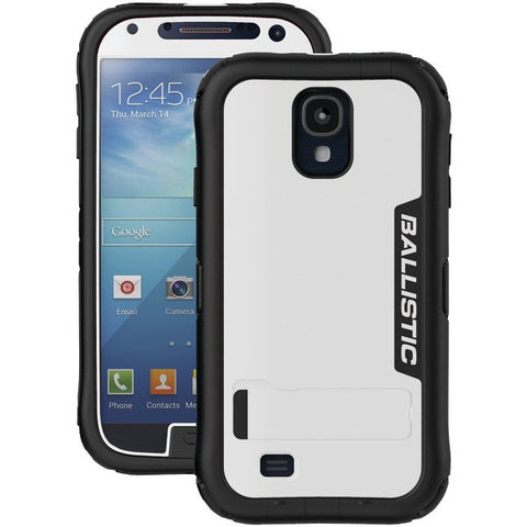 BALLISTIC EX1164-A08C Samsung(R) Galaxy S(R) 4 Every1(R) Case with Kickstand (White/Black)