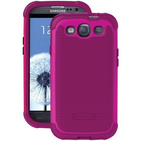 BALLISTIC TJ0930-A68C Samsung(R) Galaxy S(R) III Tough Jacket(TM) Case (Ruby Wine/Ruby Wine/Dark Ruby Wine