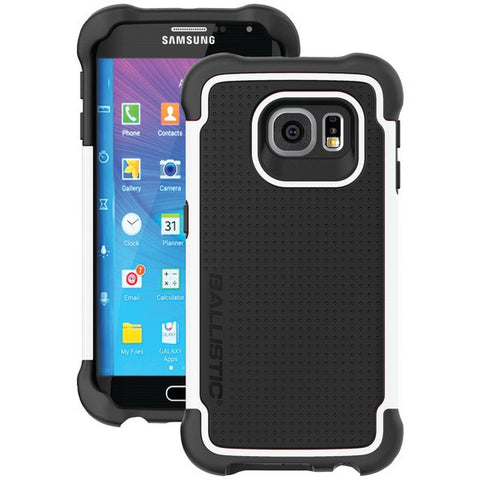 BALLISTIC TJ1613-A08N Samsung(R) Galaxy S(R) 6 Edge Tough Jacket(TM) Case (Black/White)