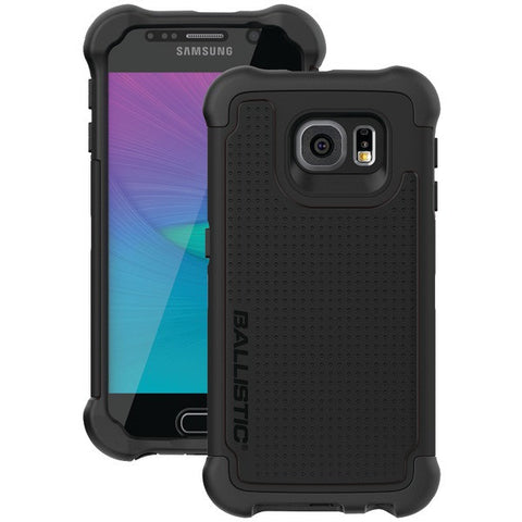 BALLISTIC TX1603-A06N Samsung(R) Galaxy S(R) 6 Tough Jacket Maxx(TM) Case with Holster (Black)