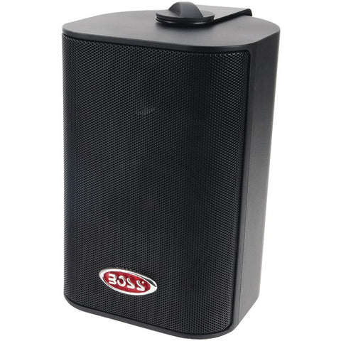 "BOSS AUDIO MR4.3B 4"" Indoor/Outdoor 3-Way Speakers (Black)"