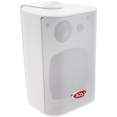 "BOSS AUDIO MR4.3W 4"" Indoor/Outdoor 3-Way Speakers (White)"