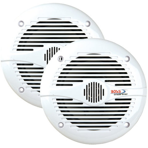 "BOSS AUDIO MR50W/MR50 2-Way Marine Speakers (5.25"")"