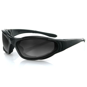 Bobster Raptor II Interchange Sunglasses Blk Frame 3 Lenses