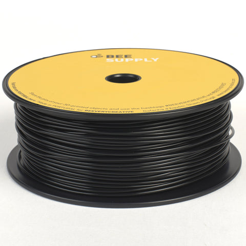 BEEVERYCREATIVE BEESUPPLY PLA - Black, 1.75mm, 330gr