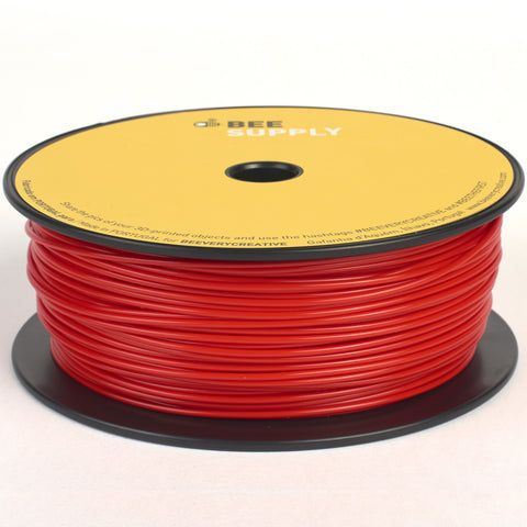 BEEVERYCREATIVE BEESUPPLY PLA - Red, 1.75mm, 330gr