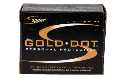 CCI/Speer Speer Gold Dot, 32ACP, 60 Grain, Hollow Point, 20 Round Box 23604