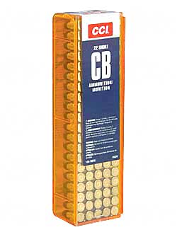 CCI/Speer CB 22S, 29 Grain, Lead Round Nose, 100 Round Box 26
