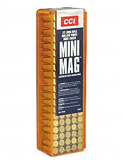 CCI/Speer Mini Mag, 22LR, 36 Grain, Gilded Lead Hollow Point, 100 Round Box 31