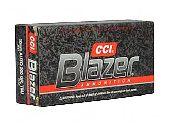CCI/Speer Blazer, 10MM, 200 Grain, Total Metal Jacket, 50 Round Box 3597