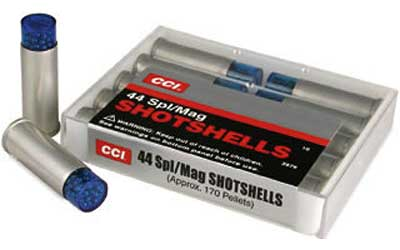 CCI/Speer Shotshell, 44MAG, 140 Grain, Shotshell, #9 Shot Size, 10 Round Box 3744