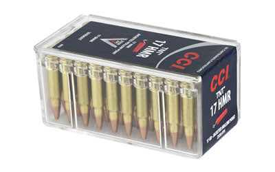 CCI/Speer TNT, 17 HMR, 17 Grain, Jacketed Hollow Point, 50 Round Box 53