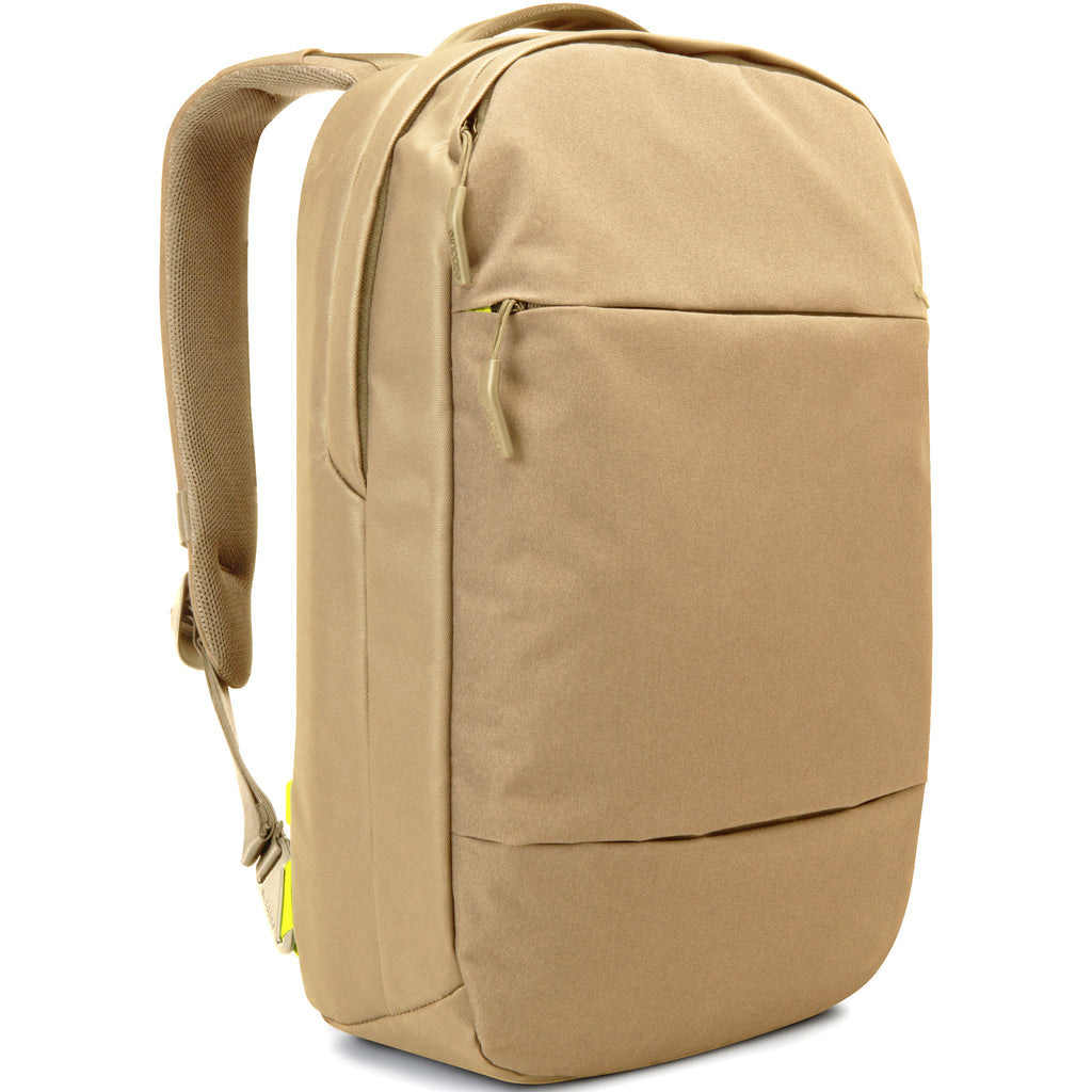 "Incase City Collection Compact Backpack for Macbook Pro 15"" or 13"" & Air 13"" or 11"" and iPad - Dark Khaki"