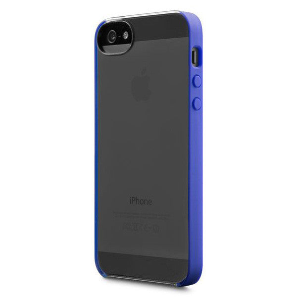 Incase Pro Snap Case For iPhone 5 - Clear/Cobalt