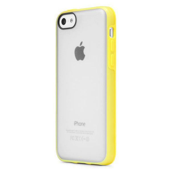 Incase Pop Case For iPhone 5c - Clear Matte/Yellow