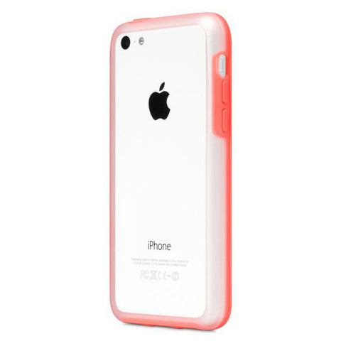 Incase Frame Case For iPhone 5c - Clear Matte/Pink