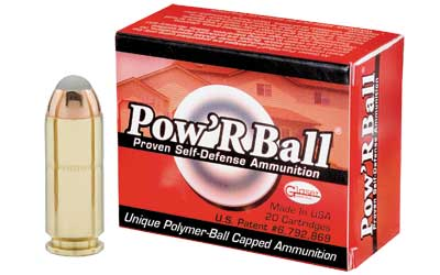 CorBon Pow'rBall, 10MM, 135 Grain, Polymer-Tipped, 20 Round Box PB10135